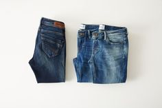 Jeans from VERO MODA. We love a good pair of jeans. Style tip: Wear your denim jeans with a cool denim shirt.