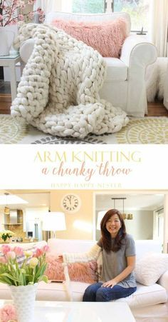 Arm knit this chunky...