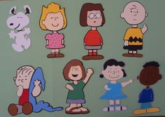 Peanuts characters diecuts for scrapbooking by ScrapnGoMemories, $23.50
