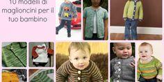10 modelli di maglioncini da bambino ai ferri