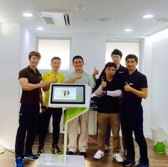 The Wav-e team in Korea.