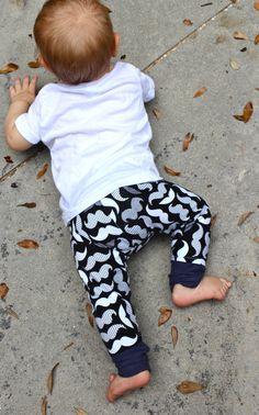 Baby Boy Pants/Toddler Pants/Baby Boy Leggings/ Mustache Print Leggings/Pants Bandana Set/Mustache Outfit/Hipster Baby Clothes by EmmaStitchCompany on Etsy https://www.etsy.com/listing/236989492/baby-boy-pantstoddler-pantsbaby-boy