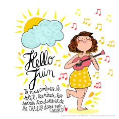 Hello June, you bring the sun, laughs, late evenings and the warmth back in our hearts!