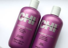 Chi Magnified Volume Shampoo & Conditioner 12 FL OZ Bottles  #CHI