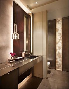 Elegant Contemporary Bathroom by Garret Werner