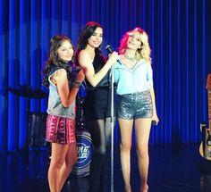 Sofía Carson , Karol Sevilla y Valentina Zenere Sofia Luna y Ámbar #SCKSVZ #OpenMusicJ&R