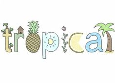 tropical, summer, and overlay image Tumblr Drawings, Cute Drawings, Tumblr Clipart, Tumblr Transparents, Theme Divider, Tumblr Png, Tumblr Stickers, Cute Wallpapers, Cute Pictures