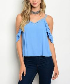 Stuck in a style rut? This selection boasts on-point pieces like casual tanks in vivid prints and easy, everyday dresses for building a solid outfit on a whim. Easter Outfit, Everyday Dresses, Off Shoulder Tops, V Neck Tops, Casual, How To Wear, Blue, Clothes, Outfits