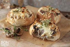 Baked Potato, Potatoes, Baking, Ethnic Recipes, Food, Zucchini, Mushroom, Potato, Bakken