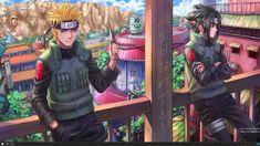 Sasuke and Naruto Jounin HC by Customs-n-Randomness