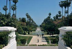 Algeria rehabs landmark gardens |  The garden contains flora and fauna dating to the 1830s.