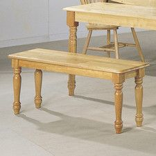Montrose Wooden Kitchen Bench