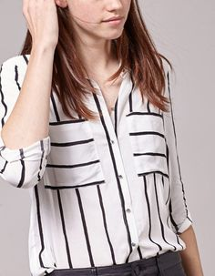 At Stradivarius you'll find 1 Striped print shirt for woman for just 169 Sweden . Visit now to discover this and more VIEW ALL.