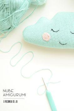 #nube #mint #fiestadejuernes #cloud #amigurumicloud #amigurumi