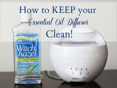 How to Keep your Essential Oil Diffuser Clean!