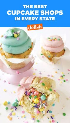 The Best Cupcake Shop In Every State #food #inspiration #ideas #wishlist #kids #comfortfood #pastryporn #forkyeah #home #EatTheTrend