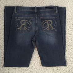 Rock & Republic skinny jeans Good condition Rock & Republic jeans size 8 inseam 31 Rock & Republic Jeans Skinny