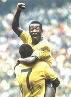 Pele is the worlds greatest player, ever to play football. Messi will not come close to his goal record. Pele is the worlds greatest player, ever to play football. Messi will not come close to his goal record. Best Football Players, Good Soccer Players, National Football Teams, World Football, Tennis Players, Football Soccer, Soccer Teams, Cristiano Ronaldo, Fifa