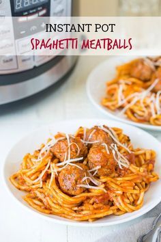 Spaghetti And Meatball Recipe In Instant Pot.Instant Pot Spaghetti And Meatballs Simply Happy Foodie. Instant Pot Turkey Meatballs And Spaghetti Squash Half . Instant Pot Meatballs And Pasta Recipe Wine Glue. Home and Family Instant Pot Pressure Cooker, Pressure Cooker Recipes, Pressure Cooking, Instant Cooker, Pressure Pot, Crockpot Recipes, Cooking Recipes, Vegetarian Recipes, Chicken Meatball Recipes