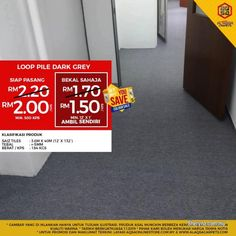 Other for sale, in Klang, Selangor, Malaysia. Wesaveyousave promo is running on Office Carpets! Buy Office Carpet From Alaqsa & Make Your Dream Neutral Carpet, Black Carpet, Patterned Carpet, Yellow Carpet, Carpet Sale, Cheap Carpet, Jute, Artificial Grass Carpet, Art Texture