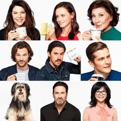 Some gilmore girl cast Gilmore Girls Cast, Gilmore Gilrs, Gilmore Girls Quotes, Lorelai Gilmore, Lauren Graham, Stars Hollow, Movies And Series, Movies And Tv Shows, Netflix Series