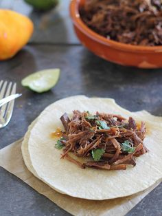 Spicy Orange Beef Carnitas | runningtothekitchen.com by Runningtothekitchen, via Flickr