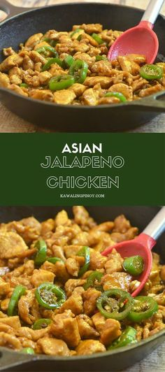 Asian Jalapeno Chicken requires simple ingredients and is ready in less than 30 minutes. With moist chicken, sweet and savory flavors, and a kick of spice, it's sure to be a family favorite!