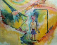 Surrealism by Luciana Barroso, via Behance