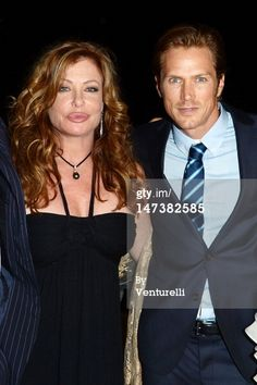 News Photo : Kelly LeBrock and Jason Lewis attend the Closing Ceremony Gala Dinner - 58th Taormina Film Feste