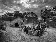 Sebastião Salgado, Bushmen, Botswana -2008 on ArtStack #sebastiao-salgado #art