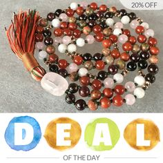 Today Only! 20% OFF this item.  Follow us on Pinterest to be the first to see our exciting Daily Deals. Today's Product: Sale - Daily Deals 8mm Most Powerful combination for Fertility Mala Beads Necklace Grounding, Fertility, Love Life, Energizing, child bearin Buy now: https://www.etsy.com/listing/483962253?utm_source=Pinterest&utm_medium=Orangetwig_Marketing&utm_campaign=Daily%20Deals   #etsy #etsyseller #etsyshop #etsylove #etsyfinds #etsygifts #musthave #loveit #instacool #shop #shopping…