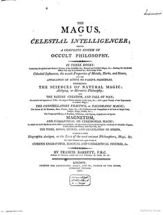 The magus, or Celestial intelligencer Supernatural Gifts, The Falling Man, Occult Books, Evil Spirits, Philosophy, Knowledge, Science, Celestial, Google