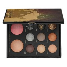 SEPHORA COLLECTION Mixed Metals Baked Eye and Face Palette: A multi-palette for the season's hottest metallic looks.