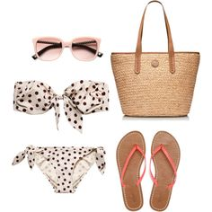 Beach day by hansqueakie on Polyvore
