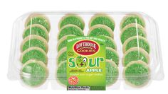 Sour Apple Frosted Mini Sugar Cookies | Lofthouse Cookies
