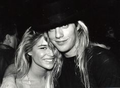 Bobbie Brown and Janie Lane at Limelight NYC ~ November 19, 1990