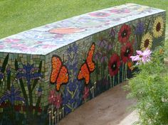 I thought you might enjoy seeing the mosaic garden that my mother-in-law and a few of her gardening friends commissioned at...