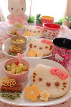 『大好きキティちゃん♡モーニングプレート』
