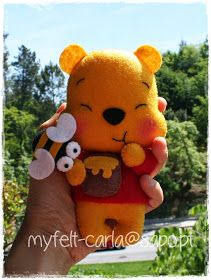My Felt: Winnie the Pooh em feltro!