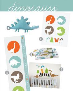 dinosaur nursery themes | Baby Boy Nursery Ideas – Dinosaurs nursery that RAWWWR! by ...