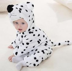 fd86a7bcd Autumn Winter Flannel Baby Boys/Girls Clothes Cartoon Animal Jumpsuit Baby  Girl Rompersdresskily