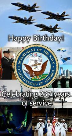 Thank you for 237 of serving our seas!