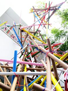 Collapse Construction   Formation Association in collaboration with Los Angeles artists, Edgar Arceneaux and Nery Gabriel Lemus; Photography: Hammer Museum   Archinect