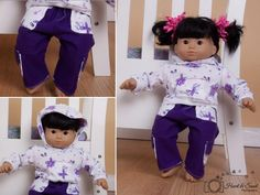 Doll knit hoodie sweatshirt pattern  Mini by EllieInspiredClothes, $1.00
