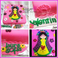 Torta virgencita de Guadalupe pinksugar #pinksugar #cupcakes  #homemade  #casero  #barranquilla #pasteleria #reposteriacreativa #tortas #fondant #reposteriabarranquilla #happybirthday  #cake #baking  #galletas #cookies  #pinksugar #wedding #buttercream #vainilla #minion #oreo #passionfruit #cupcakesbarranquilla #brownie #brownies #chocolate #teamo #amoryamistad #amor #virgendeguadalupe #virgencita