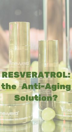 Is resveratrol the anti-aging solution? Let's find out...  @vinevera