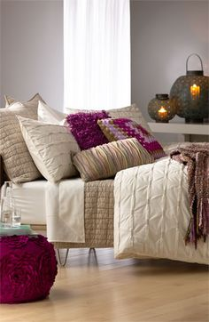Nordstrom at Home 'Wraparound Pleat - Cream Turtledove' Collection #Nordstrom #NSale