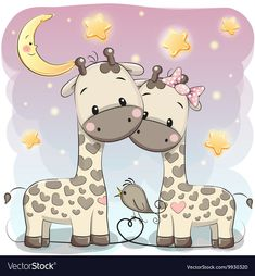 Illustration about Cute Cartoon Girl with star on the stars background. Illustration of backgrounds, celebrations, decoration - 73279739 Cartoon Cartoon, Cartoon Giraffe, Cute Cartoon Girl, Cute Giraffe, Cute Cartoon Animals, Cartoon Images, Baby Animals, Cute Animals, Cute Baby Wallpaper