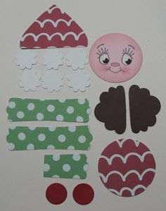 Paper punch art featuring Stampin' Up! Paper Punch Art, Punch Art Cards, Christmas Punch, Christmas Crafts, Holiday Punch, Christmas Elf, Paper Crafts, Diy Crafts, Garden Crafts