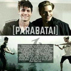 Parabatai Alec Lightwood & Jace Wayland in Shadowhunters The Mortal Instruments tv show.